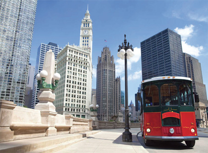 Chicago Hop-on-Hop-off Trolley Tour