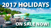 2017 Holidays On Sale Now!