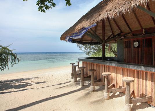 Haad Tien Beach Resort beach bar