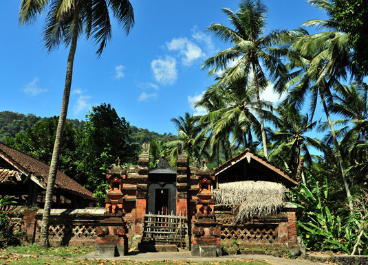Balinese Temple at Tenganan Village