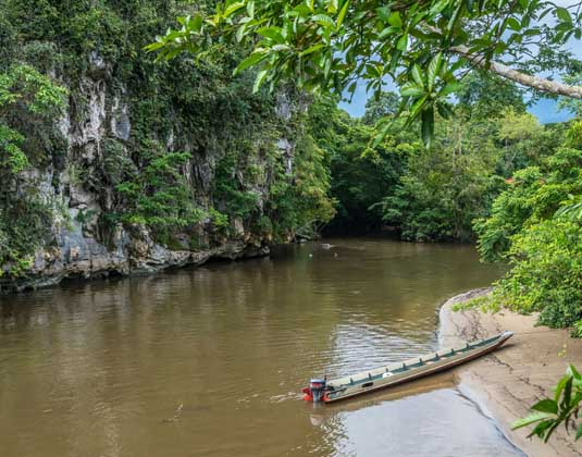 Longoboat to Mulu Caves