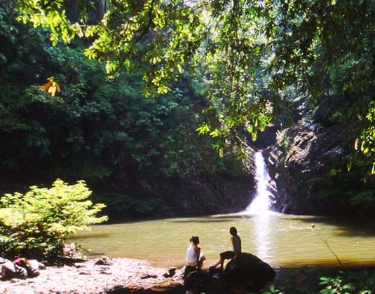 Tabin Wildlife Reserve Lipad Waterfall