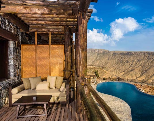 Alila Jabal Akhdar - Ridge View Balcony