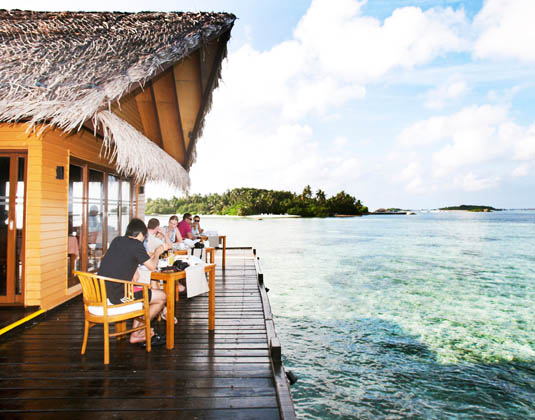 Adaaran Select Hudhuranfushi - Dining