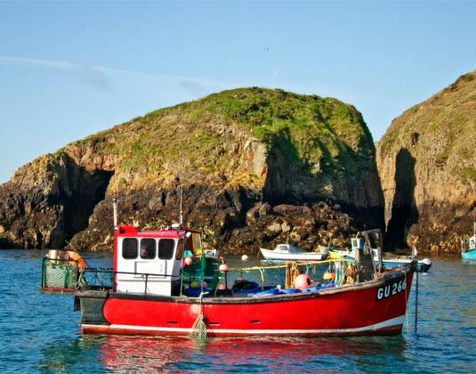 Fishing Boat Sark