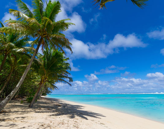 how to get to cook islands from new zealand