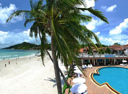 Phangan Bayshore - Pool and beach