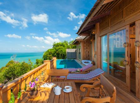 Santhiya Koh Yao Yai Resort & Spa - Ocean View Pool Villa Suite Balcony