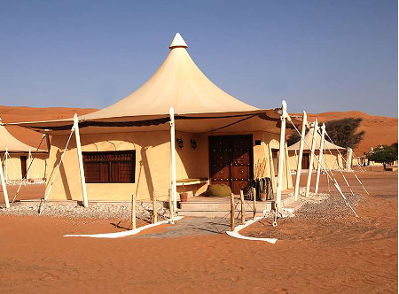 Desert Nights Camp - Exterior of tented suite