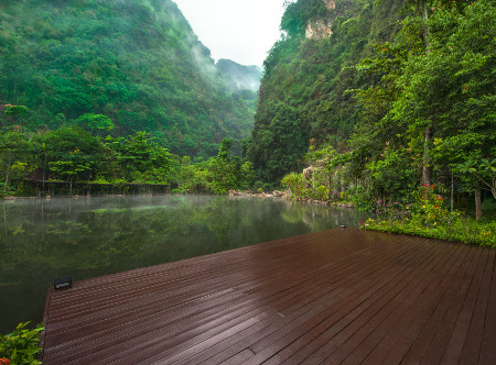 Banjaran Hotsprings Retreat -Open Deck