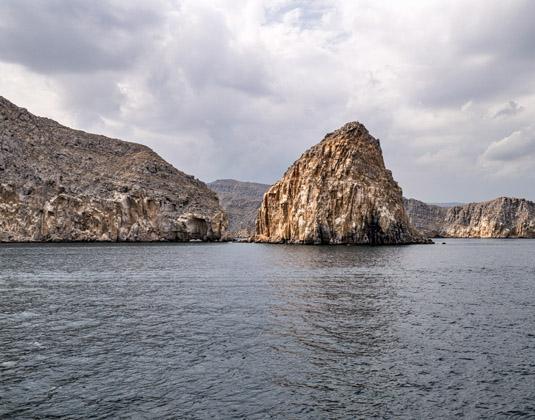 Musandam Peninsula in Oman