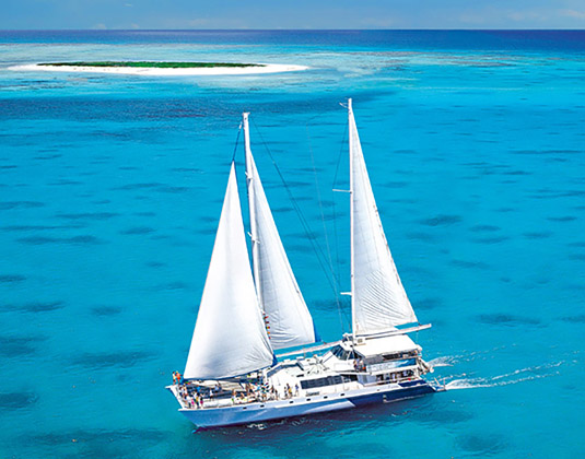 Michaelmas Cay Cruise (inc lunch) excursion