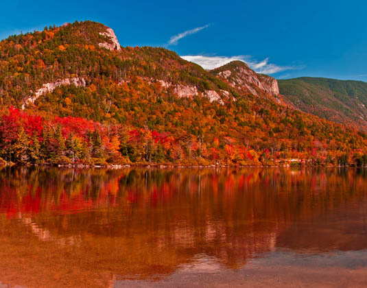 Franconia Notch, White Mountains