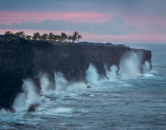Coastline at Hawaii Volcanoes National Park (