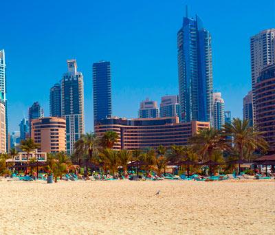 Jumeirah Beach, Jumeirah Beach Residence & Dubai Marina