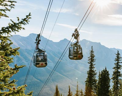 Explore Banff including Gondola & Cruise (inc lunch) excursion