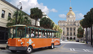 Savannah Old Town Trolley excursion