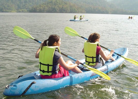 Pedal and Paddle Adventure excursion