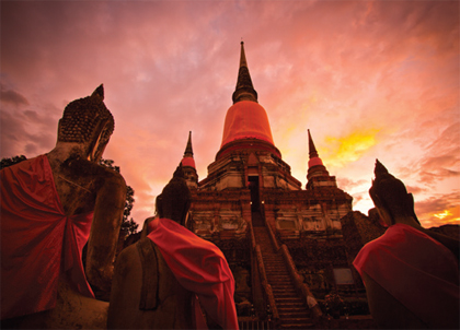 Ayutthaya, ancient capital of Thailand excursion
