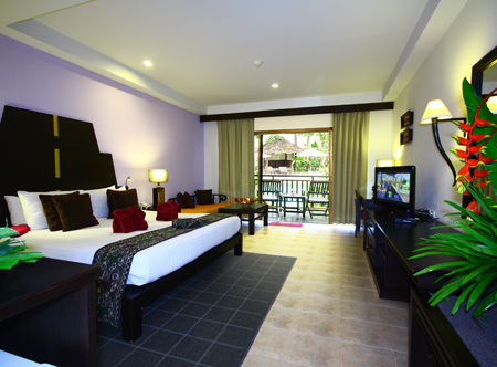 Krabi La Playa Resort - Deluxe room with pool access & jacuzzi