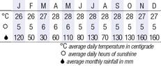 Bohol Climate Chart