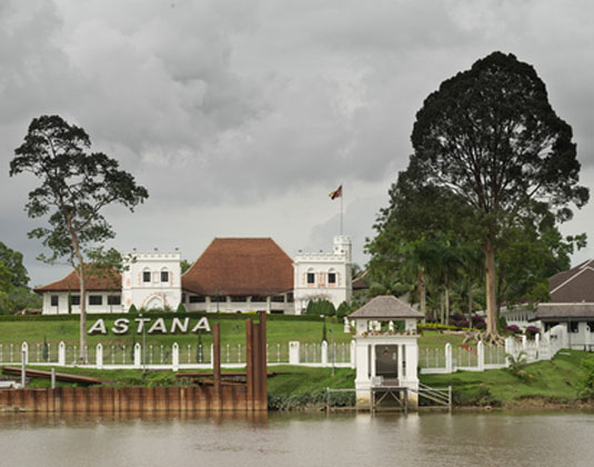 The Astana, old Government House, Kuching
