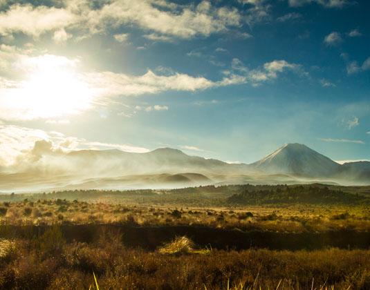 Tongariro Ngauruhoe Volcano