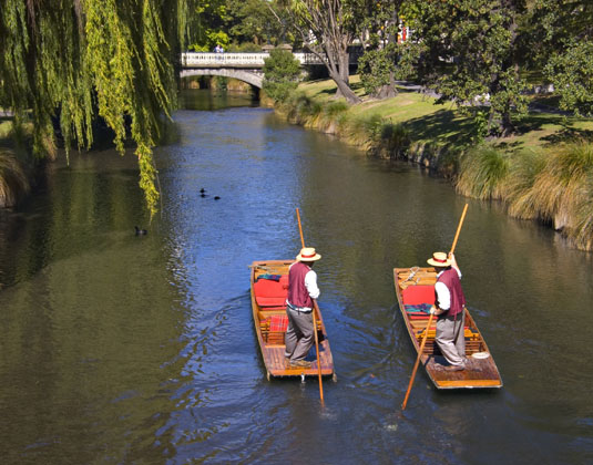 Avon River Christchurch