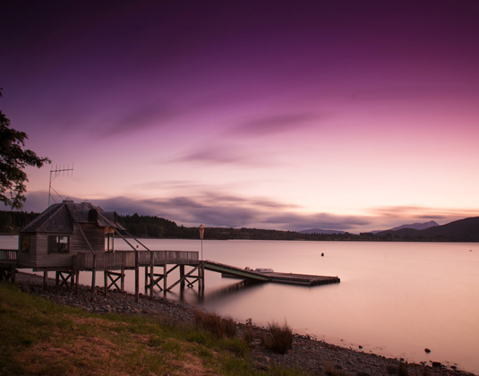 Te Anau Lake evening