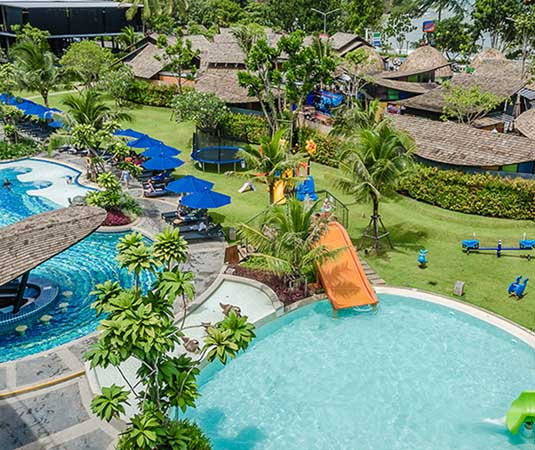 Holiday Inn Krabi - Aerial of Pool