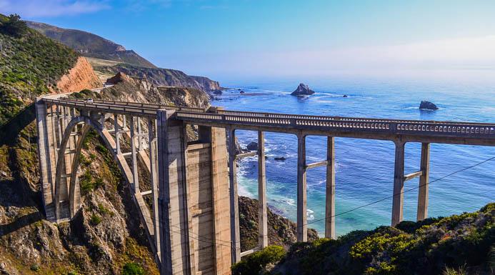 Bixby Bridge Pacific Coast Highway