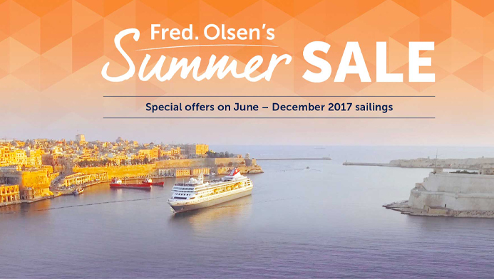 Fred. Olsen Summer Sale