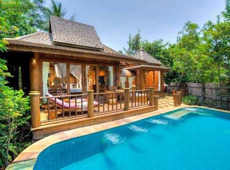 Santhiya Koh Phangan - Hideaway Pool Villa Suite Exterior