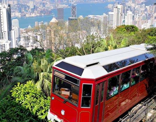 Hong Kong Peak tram