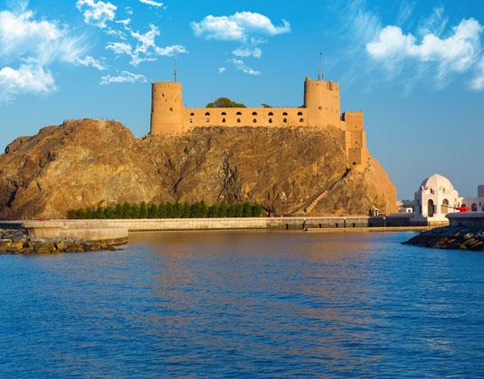 Fort Al Jalali in Muscat