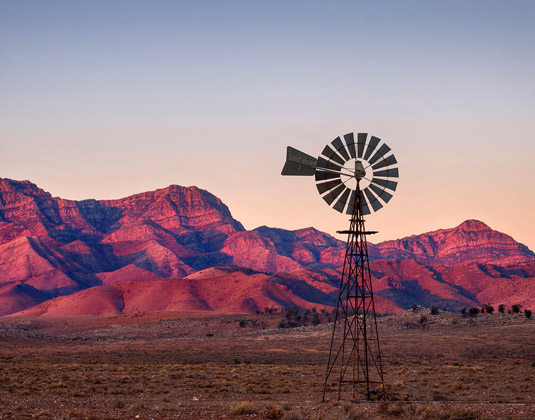 Windmill, Flinders Ranges