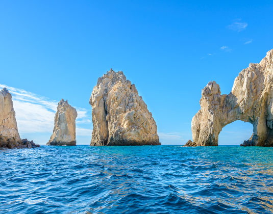 The arch point (El Arco) at Cabo San Lucas, Mexico