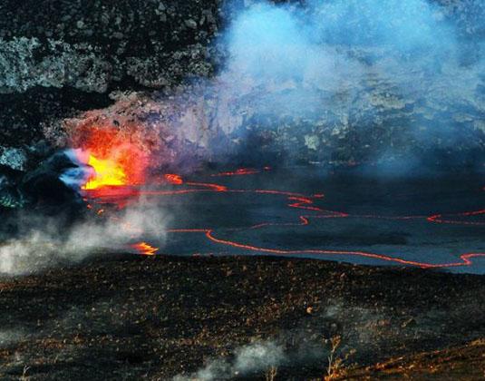 Big Island Twilight Volcano