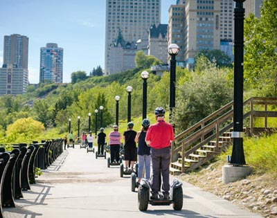Segway Adventure Edmonton excursion