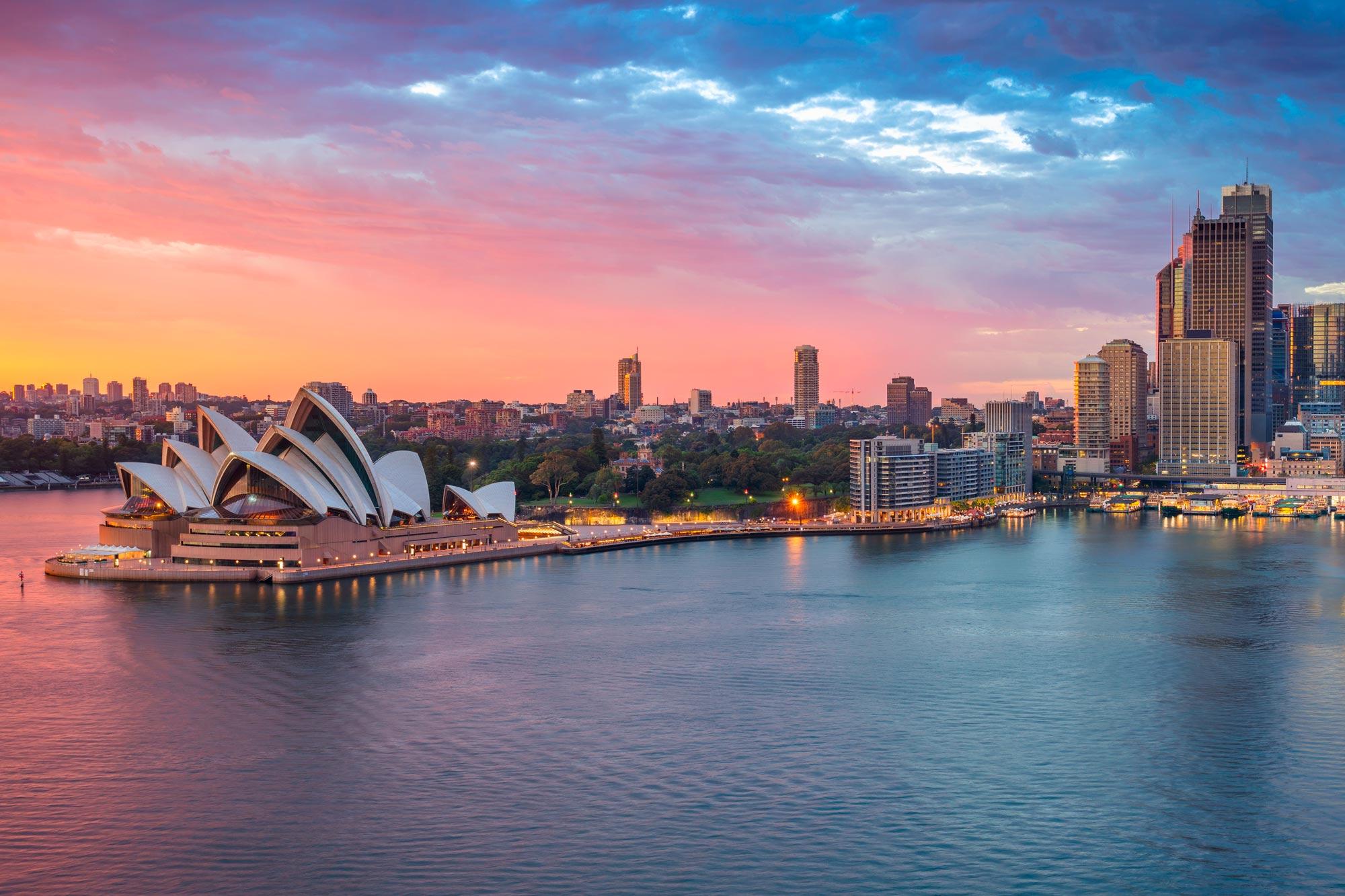 Australia City, Rock & Reef Holidays
