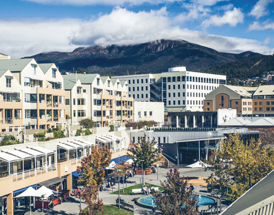 Hobart City Tour excursion