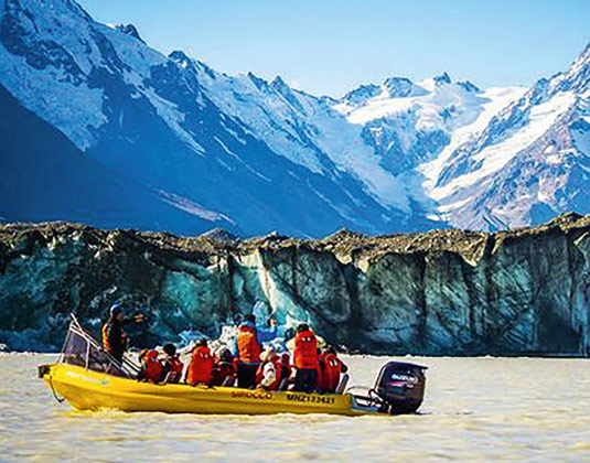Glacial Explorer Cruise excursion