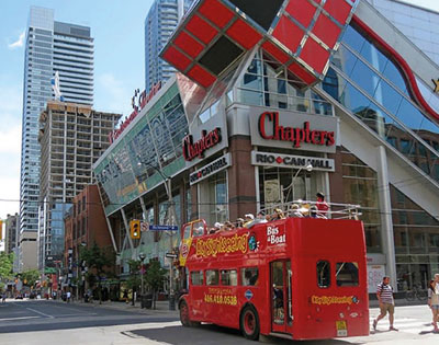 Hop-on-hop-off Toronto City Tour (2 day pass) excursion