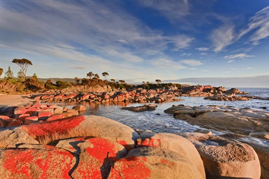 Bay of Fires excursion