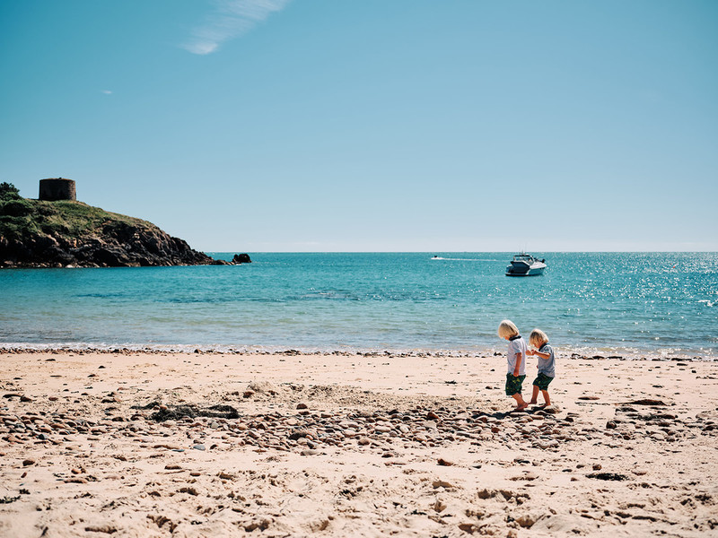 Portlet Bay - Jersey Beaches