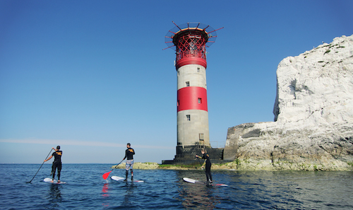 Paddle-boarding Isle Of Wight