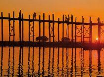 Ubein Bridge - Mandalay