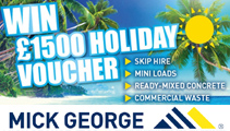 Win with Mick George