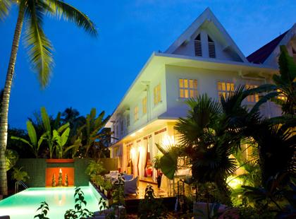 Maison Souvannaphoum Rear Facade
