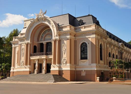 The historic Saigon Opera House